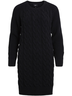 Object Jurk OBJROCCI L/S KNIT DRESS .I 92 23024851 Black