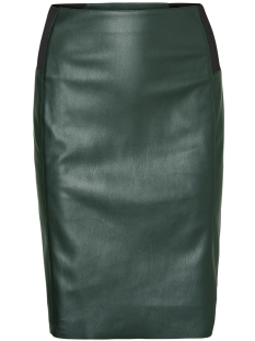 Vero Moda Rok VMRIB BUTTER HW KNEE PU SKIRT 10181958 Green Gables
