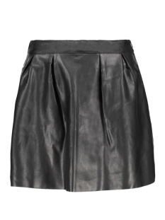 Only Rok onlSACHA SHINY FAUX LEATHER SKIRT O 15145243 Black/Metallic