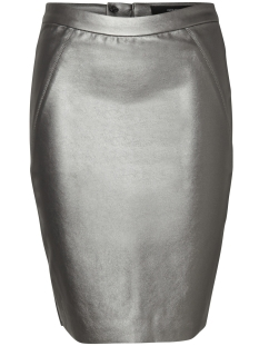 Vero Moda Rok VMNINEA HW METAL PENCIL SKIRT 10188294 Silver