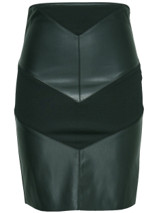 Only Rok onlMARY FAUX LEATHER MIX MIDI SKIRT 1514318 Jet Set