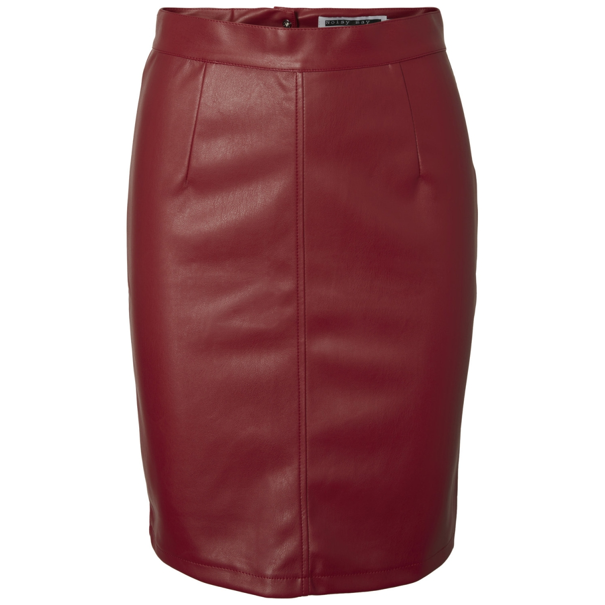9bb5d749e9835d nmpenny pu skirt noos 27001695 noisy may rok flame scarlet
