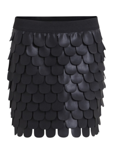 Object Rok OBJLINEATA PU SKIRT A 23025829 Black