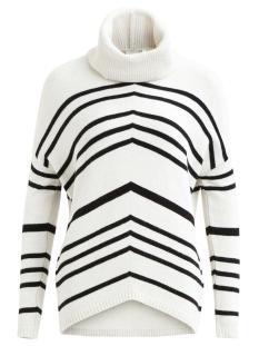 objsilli l/s knit pullover a au 23024293 object trui gardenia