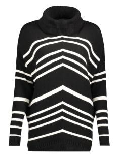 objsilli l/s knit pullover a au 23024293 object trui black