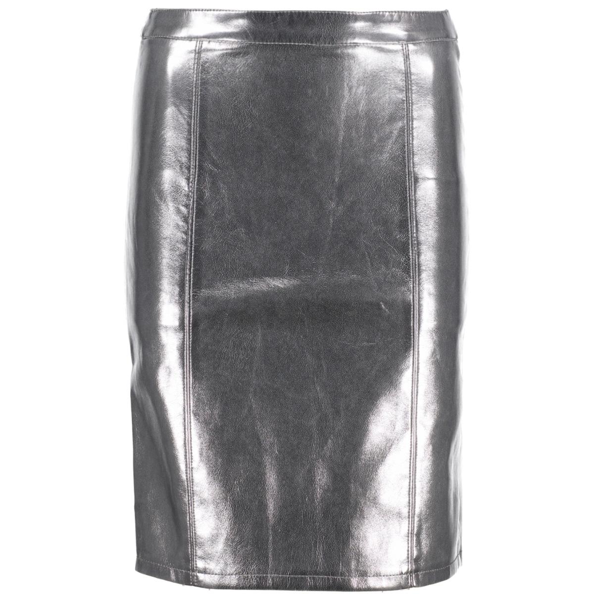 onlann faux leather midi skirt otw 15144427 only rok cinder