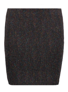 Vero Moda Rok VMBRIGHT NW SHORT SKIRT BOO Black/multi colour