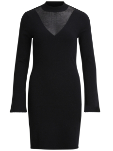 Vila Jurk VIKIMMA L/S KNIT DRESS 14043667 Black