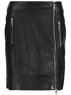 vmlia creamy nw faux leather skirt 10185773 vero moda rok black
