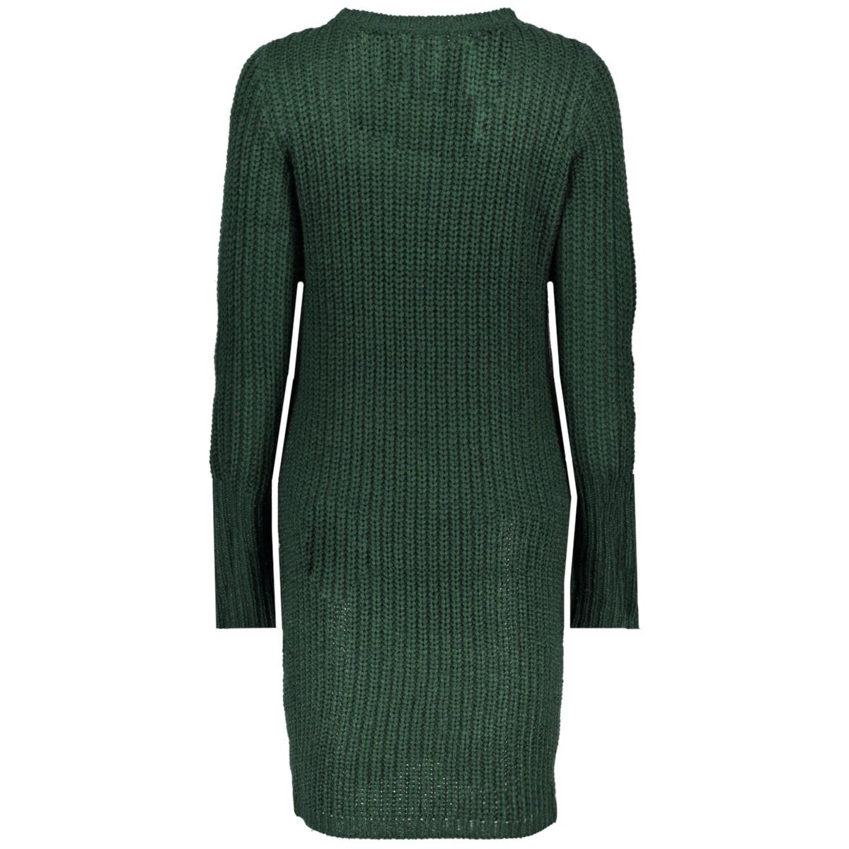 viview l/s knit dress tb 14042721 vila jurk pine grove
