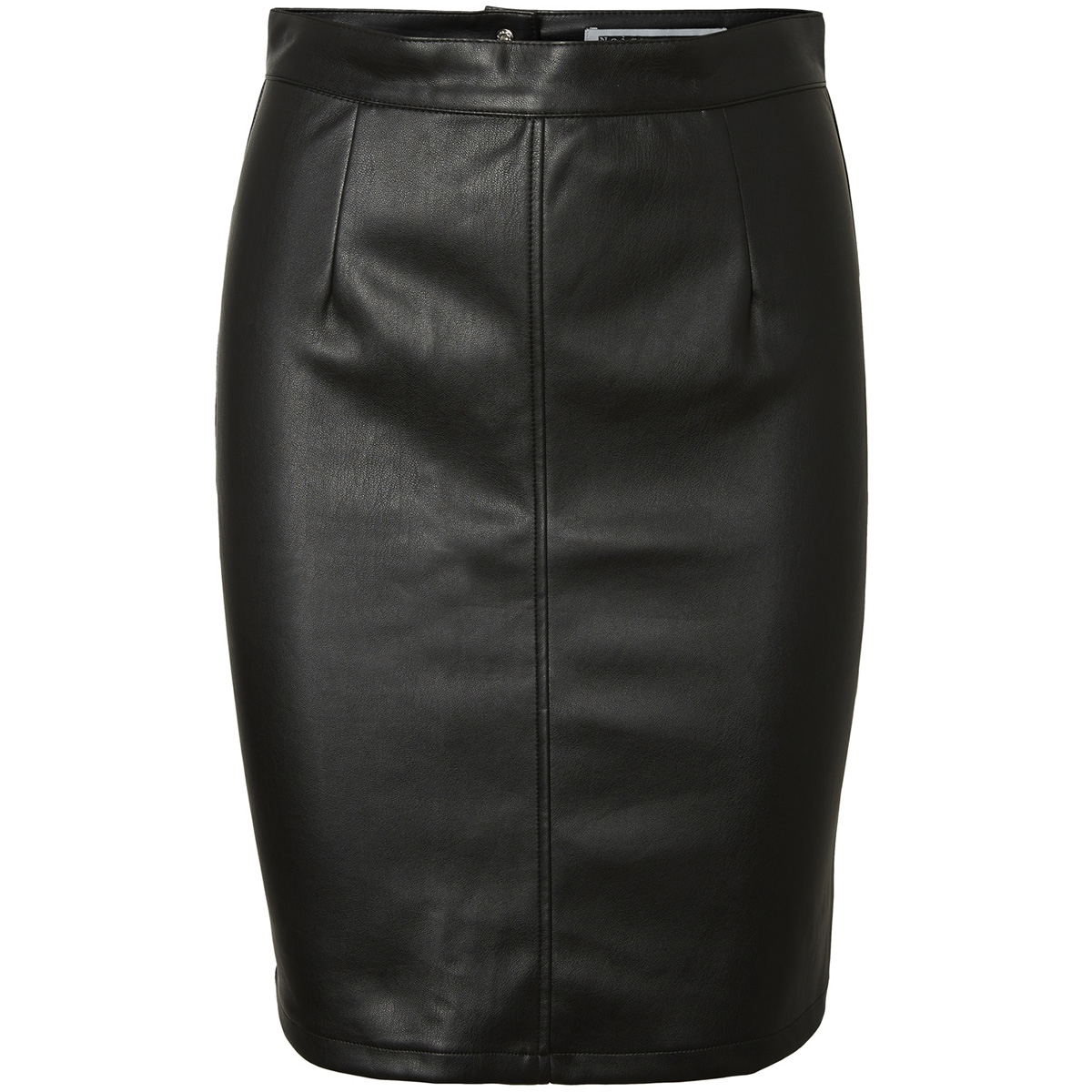 nmpenny pu skirt noos 27001695 noisy may rok black