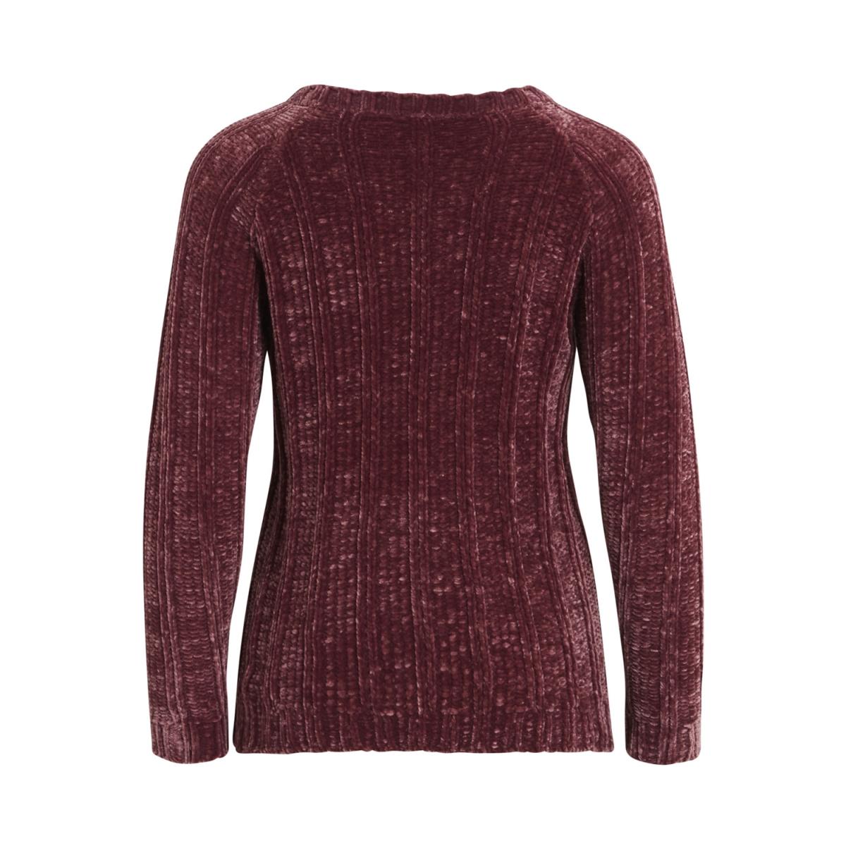 vivelvi l/s knit top 14043644 vila trui renaissance rose
