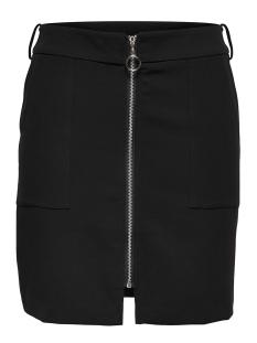 onltila zipper short skirt wvn 15146922 only rok black
