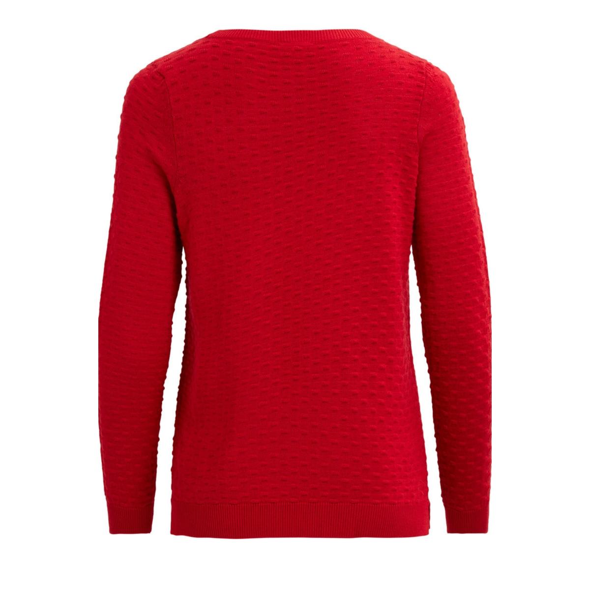 visarafina knit top - fav 14045222 vila trui lollipop