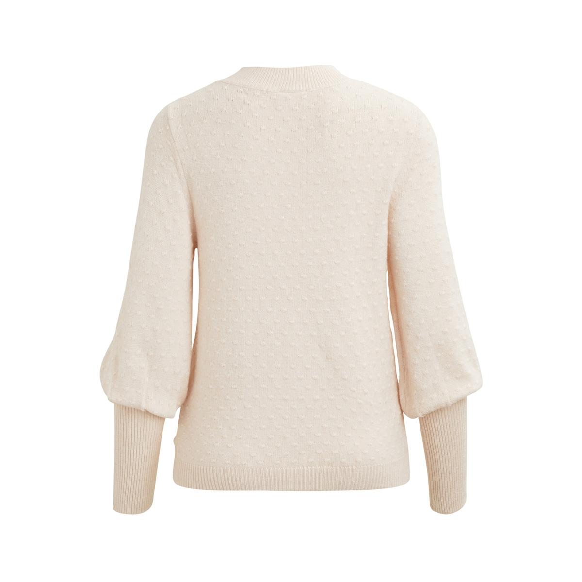 visinai l/s knit top 14044423 vila trui peach blush
