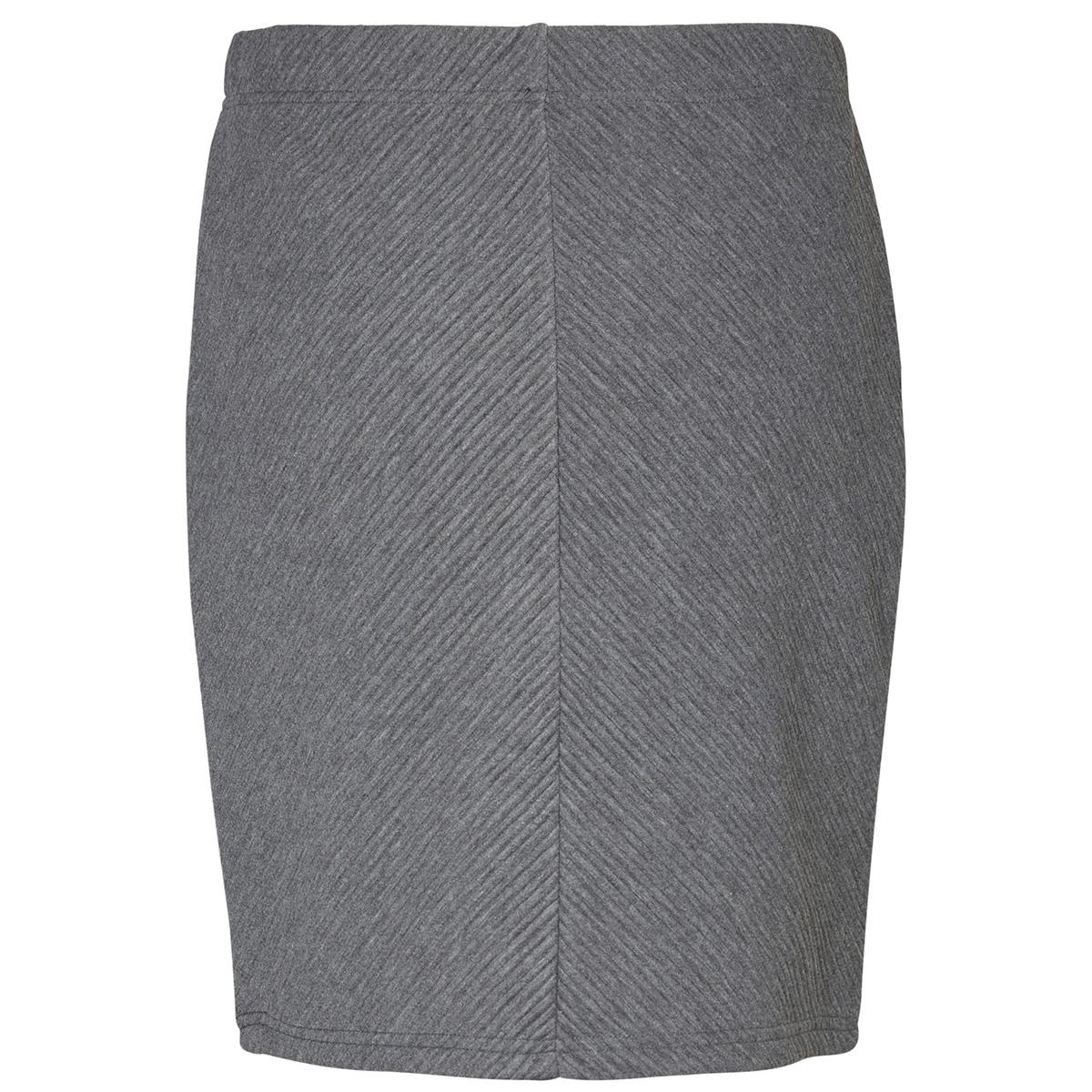 vmmona nw abk skirt swt 10190185 vero moda rok medium grey melange