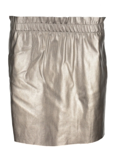 Only Rok onlSWEET PEARL FAUX LEATHER SKIRT OTW 15148550 Silver Mink/PEARL META