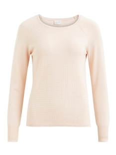 Vila Trui VIHELENI L/S CABLE KNIT TOP/PB 14044901 Peach Blush