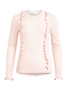 Vila Trui VITILLI L/S KNIT TOP/PB 14045161 Peach Blush