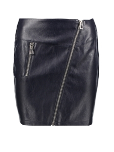 Vero Moda Rok VMSIF NW FAUX LEATHER SHORT SKIRT 10193311 Night Sky