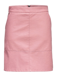 Only Rok onlLISA FAUX LEATHER SHORT SKIRT OT 15149113 Blush