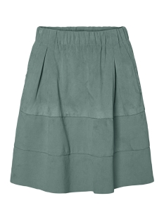 Noisy may Rok NMLAUREN FAUX SUEDE SKIRT NOOS 27002704 Chinois Green