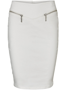Vero Moda Rok VMHOT GELLER HW PENCIL SKIRT 10193151 Snow White