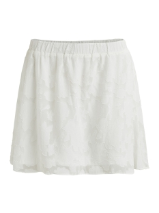 Vila Rok VIPATTIE SKATER SKIRT 14045550 Cloud dancer