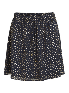 Vila Rok VIGOLDY SKATER SKIRT 14047380 Total Eclips/DOTS-GOL