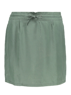 Noisy may Rok NMHAYLIE  KNEE TENCEL SKIRT 2B 27002428 Duck Green