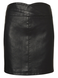Vero Moda Rok VMCONNERY SHORT FAUX LEATHER SKIRT 10196100 Black