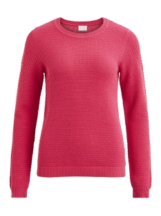 Vila Trui VICHASSA L/S KNIT TOP-FAV 14043285 Earth Red