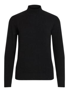 viril l/s turtleneck knit top-noos 14047154 vila trui black