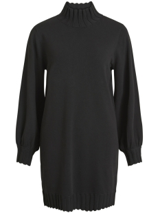Object Jurk OBJDILLINGER L/S HIGHNECK DRESS 98 23027330 Black