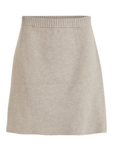 Vila Rok VIOLIVENA KNIT  SKIRT 14047318 Natural Melange