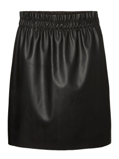 vmriley hr ruffle short skirt 10204639 vero moda rok black