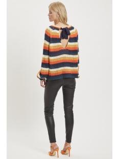vilanana l/s knit 14050025 vila trui russet orange/multicolor