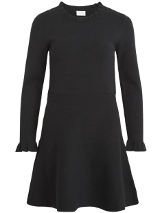 Vila Jurk VIOLIVINA KNIT L/S DRESS 14049574 Black