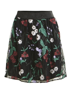 Vila Rok VIBRODA SKIRT 14049569 Black/EMBROIDERY