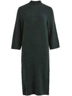Object Jurk OBJCODY EVELYN L/S KNIT DRESS 98 23027336 Pine Grove/SOLID