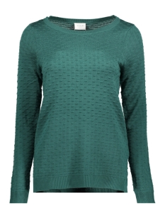 Vila Trui VISARAFINA KNIT TOP FAV 14045222 Bayberry