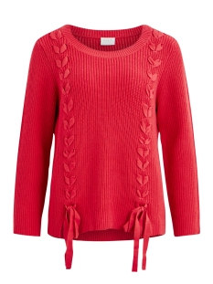 Vila Trui VIBRAIDA KNIT L/S TOP 14049056 Barberry