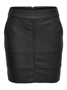 Only Rok onlBASE FAUX LEATHER SKIRT OTW NOOS 15164809 Black