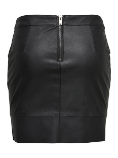 onlbase faux leather skirt otw noos 15164809 only rok black
