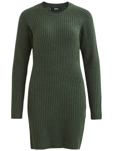 Object Jurk OBJNONSIA RIB L/S KNIT DRESS SEASON 23027811 Pine Grove