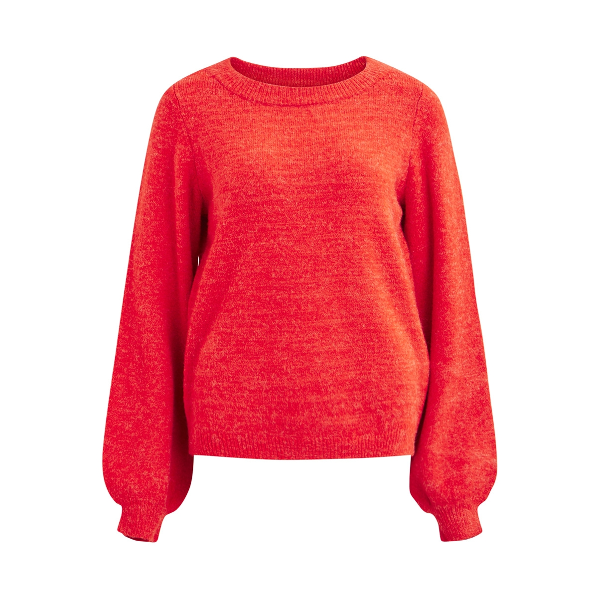 objeve nonsia ls knit pullover seas 23028232 object trui fiery red
