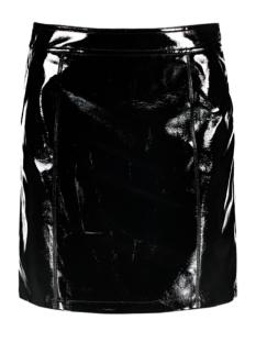 Jacqueline de Yong Rok JDYFRANKY GLOSSY SKIRT OTW SIE 15164951 Black