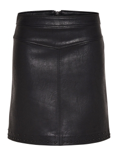 Only Rok onlANABELLE EMB. FAUX LEATHER SKIRT 15165875 Black