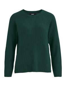 objnonsia rib l/s knit pullover sea 23027812 object trui pine grove