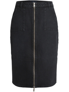 Pieces Rok PCGIGGI HW PENCIL DNM SKIRT BL601-BA 17092841 Black Denim